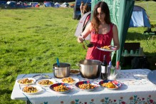 Somersault festival travelling Kitchen