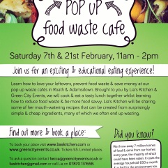 Pop Up Cooking workshops LFHW