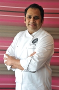 Chef Anand George Purple Poppadom