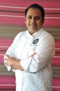 Chef Anand George Purple Poppadom