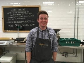 Shaun of Oriel Jones's Butchers on Cowbridge road east