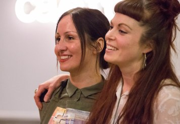 The founders of Wasteless Lia and Becca (Lia's Kitchen and Green City events)